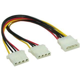 0.10m Good Connections IDE Stromadapterkabel intern 4pol Stecker auf