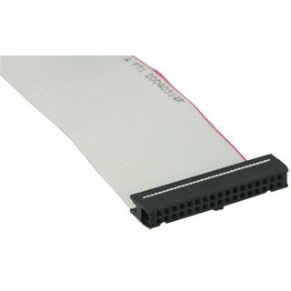 0.70m Good Connections Floppy Anschlusskabel 34pol Buchse auf 34pol