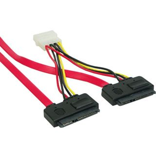 0.50m Good Connections SATA 3Gb/s Anschlusskabel All-in-One 2xSATA