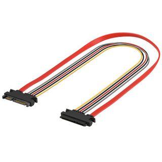 0.50m Good Connections SATA 3Gb/s Verlängerungskabel All-in-One