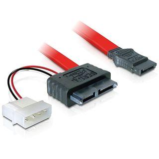 0.30m Good Connections SATA 3Gb/s Anschlusskabel Slimline 7+6pol