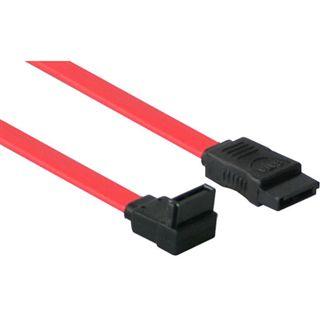 0,7m SATA 3 Gb/s Anschlusskabel rot gewinkelt