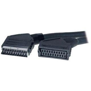 10.00m Good Connections SCART Verlängerungskabel 20pol Stecker