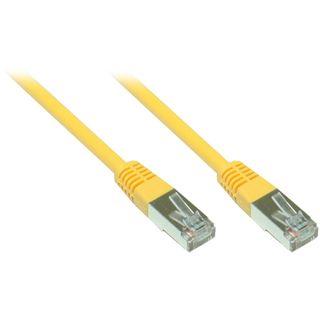 15.00m Good Connections Cat. 5e Patchkabel F/UTP RJ45 Stecker auf