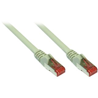 0.25m Good Connections Cat. 6a Patchkabel S/FTP PiMF RJ45 Stecker auf