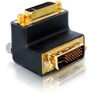 Good Connections Adapter gewinkelt DVI 24+5 Stecker auf DVI 24+5