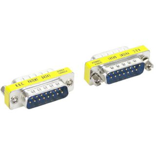 Good Connections Adapter Gender-Changer 15pol Stecker auf 15pol