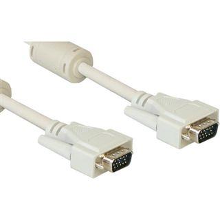 5.00m Good Connections S-VGA Anschlusskabel VGA 15pol Stecker auf VGA