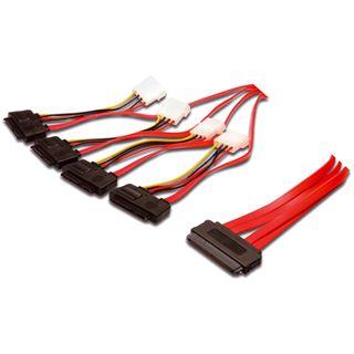 0.50m Good Connections SAS 3Gb/s Anschlusskabel SFF-8484 Stecker auf