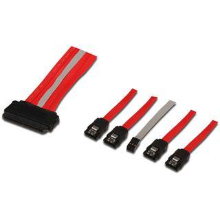 1.00m Good Connections SAS 3Gb/s Anschlusskabel SFF-8484 Stecker auf