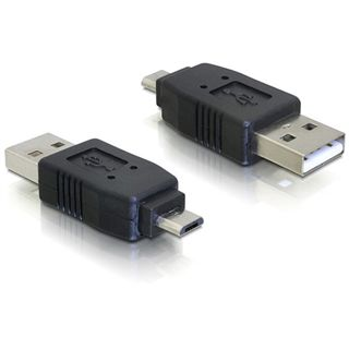 Good Connections Adapter Gender-Changer USB mikroB Stecker auf USB A