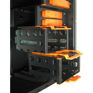 Inter-Tech IT-9908 Aspirator II Midi Tower ohne Netzteil schwarz