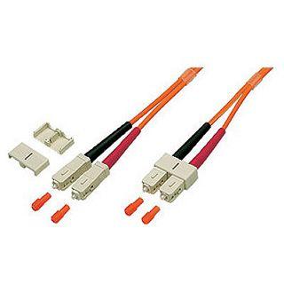 1.00m Good Connections LWL Duplex Anschlusskabel 50/125 µm OM2