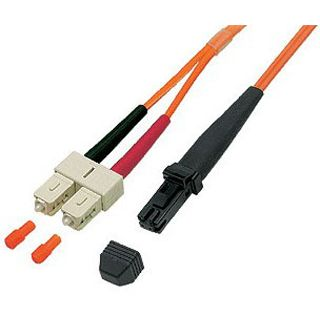 20.00m Good Connections LWL Duplex Anschlusskabel 50/125 µm OM2