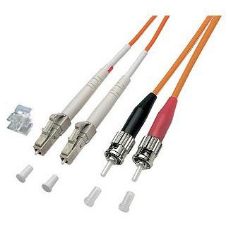 30.00m Good Connections LWL Duplex Anschlusskabel 50/125 µm OM2