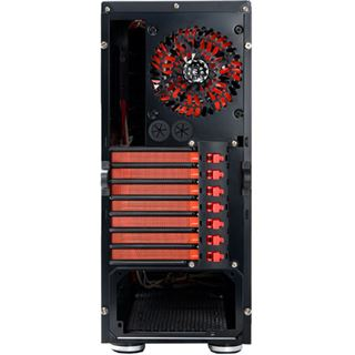 Revoltec Fifty 5 Midi Tower ohne Netzteil schwarz