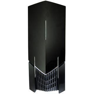 NZXT LeXa S Midi-Tower - Black Metal