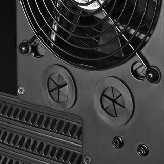 Lian Li PC-60FNWX Window gedaemmt Midi Tower ohne Netzteil schwarz