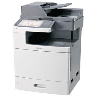 Lexmark X792de Farblaser Drucken/Scannen/Kopieren/Faxen LAN/USB 2.0