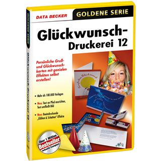 Data Becker GLUECKWUNSCH-DRUCKEREI 12