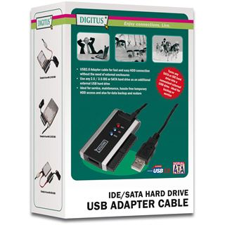 Digitus USB Adapter 2.0 USB>IDE o. SATA DA-70200