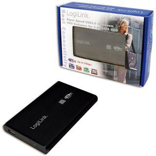 "LogiLink UA0106 2.5"" (6,35cm) USB 3.0 schwarz"