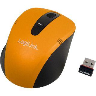 LogiLink ID0047 Mini USB orange (kabellos)