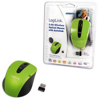 LogiLink ID0048 Mini USB gruen (kabellos)