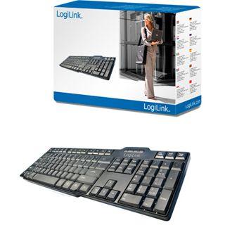 LogiLink ID0041 USB Deutsch schwarz (kabelgebunden)