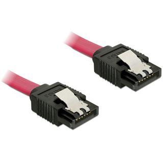 (€9,80*/1m) 0.50m Delock SATA 6Gb/s Anschlusskabel SATA Stecker