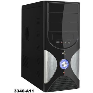 Codegen Q3340-A11 Midi Tower 420 Watt schwarz