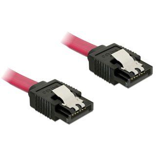(€4,25*/1m) 0.20m Delock SATA 6Gb/s Anschlusskabel SATA Stecker