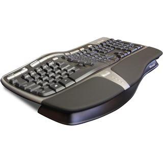 Microsoft Natural Ergonomic Keyboard 4000 OEM USB Deutsch schwarz