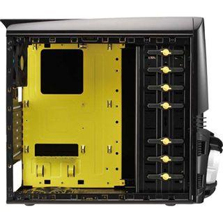 AeroCool Vx-e Battle Edition Midi Tower ohne Netzteil schwarz/gelb