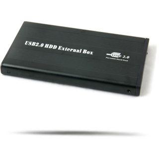 "WinTech EX-MOB-5 2.5"" (6,35cm) USB 2.0 schwarz"