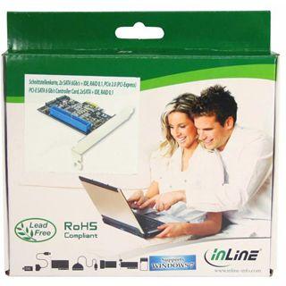 InLine 76613i 3 Port PCIe 2.0 x1 Low Profile