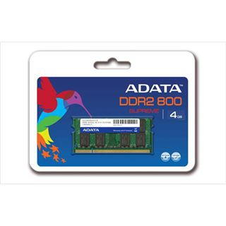 4GB ADATA Value DDR2-800 SO-DIMM CL6 Dual Kit