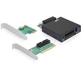 "Delock 61835 3 Port PCIe x1 inkl. 3,5"" Laufwerk retail"