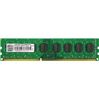 2GB Transcend Value DDR3-1333 DIMM CL9 Single