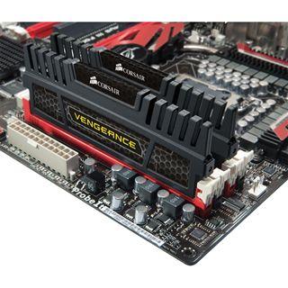 8GB Corsair Vengeance schwarz DDR3-1600 DIMM CL9 Dual Kit