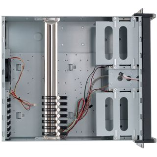 "19""(48,26cm) Fantec Industrie PC-Gehäuse TCG-4860KX07-1 4HE"