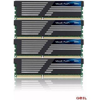 16GB GeIL Value Plus DDR3-1333 DIMM CL7 Quad Kit