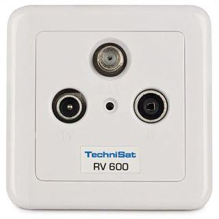 TechniSat Antennensteckdose Technipro 600-10 Koax Stecker + Koax