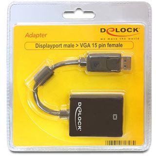 Delock Displayport Adapter für VGA 15pol Buchse (61848)