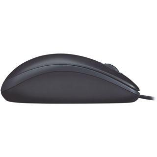 Logitech B110 USB schwarz (kabelgebunden)