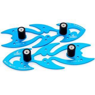The Feser Company Silent Arrow Noise Absorber blau Entkoppler