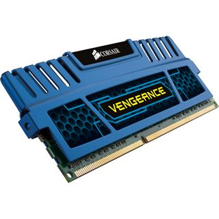 16GB Corsair Vengeance blau DDR3-1600 DIMM CL9 Quad Kit