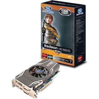 1GB Sapphire Radeon HD 6870 Aktiv PCIe 2.1 x16 (Lite Retail)