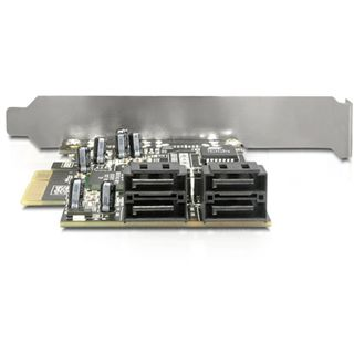 Delock 89280 4 Port PCIe x4 retail