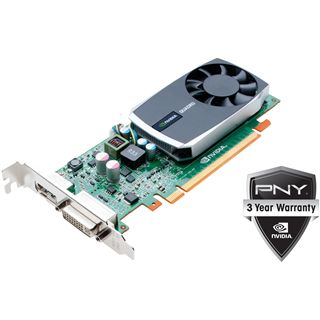 1GB PNY Quadro 600 Aktiv PCIe 2.0 x16 (Bulk)